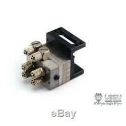 Lesu Hydraulique Distributeur 2 Canaux Pour Les 1/14 Rc Camion Benne Loader Modèle Dump
