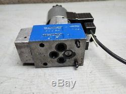 Lot (2) Bosch Rexroth R900566283 Hydraulique De Commande Directionnelle Valve