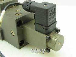 Moog Hydrolux Hpn-2153006 Valve De Service Hydraulique De Commande Directionnelle Proportionnelle