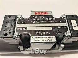 Nachi Ss-g01-c1-r-d1-e30 Electrovanne Directionnelle Hydraulique De Commande De Soupape (dc De 12v)
