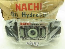 Nachi Ss-g03-c5-r-d2-e10 Commande Directionnelle Hydraulique Vanne Solénoïde Humide 24vdc