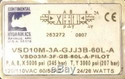 New Continental Hydraulique Vsd10m-3a-gjj3b-60l-a-distributeur Nnb