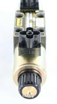 Nouveau D1fwe02hcnkw020 Vanne Hydraulique Directionnelle Proportionnelle Parker 12v
