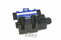 Nouveau Northman Swh-g03-b2-10 Hydraulique Solenoid Valve Directionnelle Swhg03b210