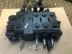 Nouveau Parker V20 Contrôle Hydraulique Solenoid Directionnel Bloc V20-10410-f 4-spool