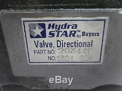 Nouvelle Hydra Étoile 20344pp-distributeur Hydraulique Hlqk094c