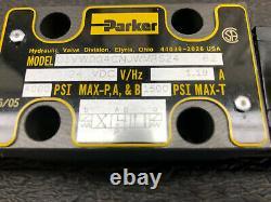 Nouvelle Marque Parker D1vw004cnjwmrs24 Vanne Directionnelle Hydraulique À Solénoïde