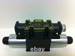 Nouvelle Valve De Commande De Débit Directionnel Hydraulique Parker Inutilisée D1vw001cnygs256