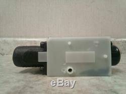 Parker D1vl001cn 22,0 Débit Max 5000 Gpm Max Psi Hydraulique Valve Directionnelle