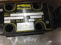 Parker D1vl001cn Levier Hydraulique Directionnel Valve Fermée Spool Nouveau
