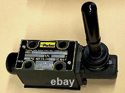 Parker D1vl001cn Valve Hydraulique Directionnelle, Levier, D03, Fermé, Neuf