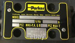 Parker D1vl8cv-72 Hydraulique Directionnel Soupape De Commande