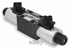Parker D1vw002cnjwm Éléctomagnétiques Hydraulique Directionnel Vanne De Régulation