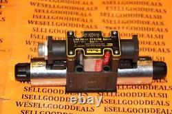Parker D1vw004cnjg56 Hydraulic Directional Control Solenoid Valve 24vdc Nouveau