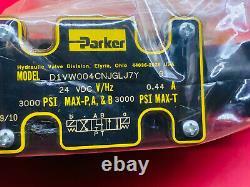 Parker D1vw004cnjglj7y Soupape De Commande Directionnelle Hydraulique