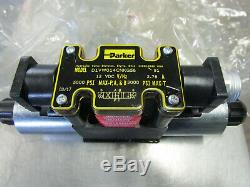 Parker D1vw014cnkg56 Hydraulique 12 Vdc-distributeur 5000psi 3000psi Nouveau Surp