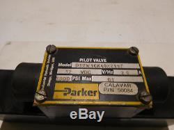 Parker Do3 12 Volt D1vwick40x2197 Hydraulique Valve Directionnelle