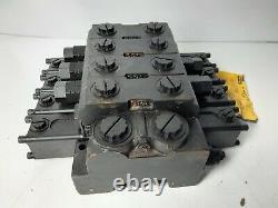 Parker Gresen 8072 4 Bobines Hydraulique Robinet De Commande Directionnelle Mobile