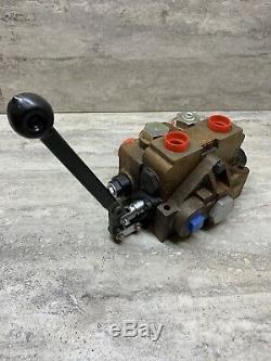 Parker Gresen 8072 Section Simple Hydraulique Directionnel Spool Valve, Nouveau Autre