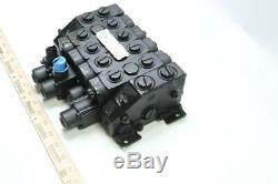 Parker V10-01076-f 4-bobine Mobile Hydraulique De Commande De Soupape Directionnelle