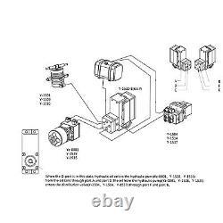 Pour Le Modèle De Construction Système Hydraulique Valve Directionnelle Avec Vitesse De Direction