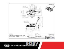 Prince Directional Control Valve 1 Bobine 25 Gpm, 2750 Psi, 3/4 Ports De Travail Npt