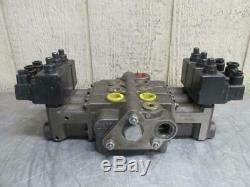 Prince Svw1ba-t11h Hydraulique Directionnel Vanne De Régulation 3 Spool Éléctomagnétiques
