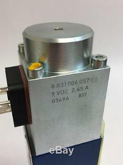Rexroth 0811404125 Commande Hydraulique Proportionnelle Valve Directionnelle 9vcc 2.45a