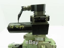 Rexroth 4wrd 25 Hydraulique Directionnel Asservissement Stack Valve 4ws2em10