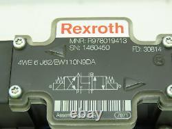 Rexroth H-4weh / We6 Valve De Bobine Solénoïde De Commande Directionnelle Hydraulique 120v