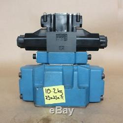 Rexroth Hydraulique De La Vanne Directionnelle Spool 4weh16j60mo / 6ag24 Nes2pl