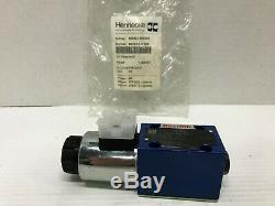 Rexroth R900554753 Hydraulique De Commande Directionnelle Valve 4we-6-d62 / Eg24k4 24vcc