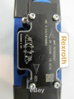 Rexroth R978908567, 4 Voies Directionnelle Hydraulique Vanne De Régulation