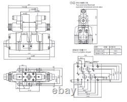Soupape De Commande Directionnelle Électro-hydraulique 80gpm/ 300l/min 24vdc, Cetop 7, Ng16