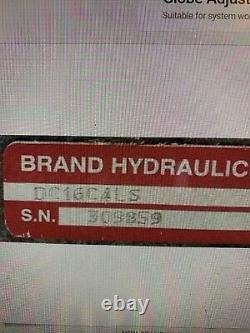 Soupape De Commande Directionnelle Hydraulique