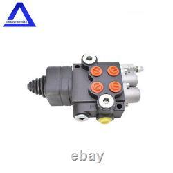 Soupape De Commande Directionnelle Hydraulique Pour Chargeuse Tracteur Avec Joystick 2spool 21gpm