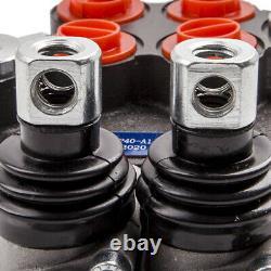Valve De Commande Directionnelle Hydraulique Réglable Débit Max 13 Gpm 2 Bobine 3600 Psi