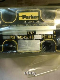 Valve Directionnelle Hydraulique Parker D1va1dv-72