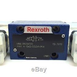 Valve Hydraulique Directionnelle 4we6q62 / Eg24n9k4 Bosch Rexroth 4we-6-q62 / Eg24n9k4
