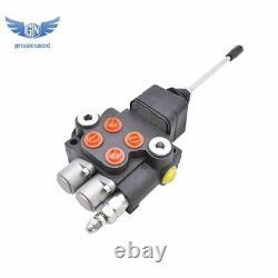 Vanne De Commande Directionnelle Hydraulique Pour Chargeur De Tracteur Avec Bobine Joystick 2 21gpm