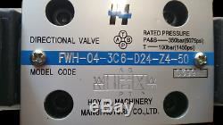Vanne De Régulation Directionnelle Électro-hydraulique 80gpm / 300l / Min 24vcc, Cetop 7, Ng16