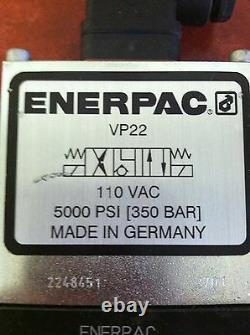 Vanne Directionnelle Hydraulique Enerpac Vp22 4/3