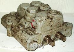 Vickers 2 Bobine Hydraulique De Commande Directionnelle Valve Cmd12p20dd10 Clark 1791069