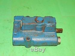 Vickers Cmd12 P1020d010 Hydraulique Directionnel Vanne De Régulation