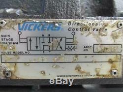 Vickers Dg17s-8-8n-10 Manuel Hydraulique Directionnel Vanne De Régulation