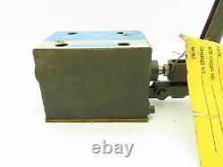 Vickers Dg17v4-016n-10 Soupape Hydraulique De Levier De Commande Directionnelle 4-way D05