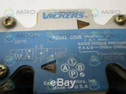Vickers Dg4v-3-6c-m-ftwl-b6-60 Direction Hydraulique Valve D'occasion