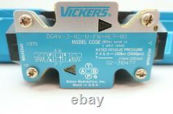 Vickers Dg4v-3-6c-m-fw-hl7-60 Hydraulique Directionnel Vanne De Régulation 5000psi 24v-dc