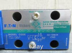 Vickers Dg4v-3s-2b-m-u-h5-60 Hydraulique Directionnel De Commande Electrovanne