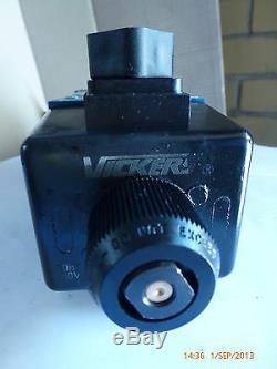 Vickers Dg4v-5-33c-m-u-a6-20 616947 Éléctomagnétiques Directionnel Vanne De Régulation